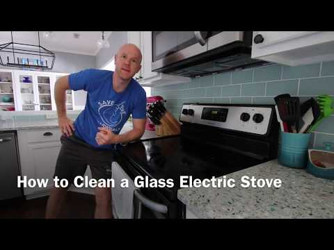 How to Clean a Glass Top Electric Stove