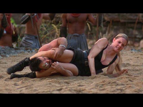 Hot Fight Scene Sonya Blade vs Kano. Mortal Kombat 1995