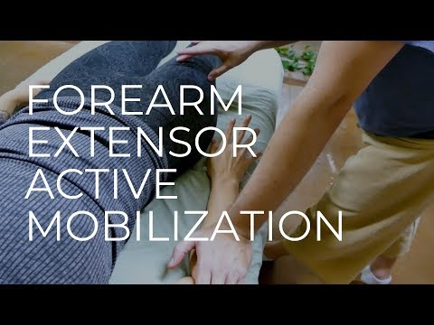 Forearm Extensor Massage How To Active Mobilization