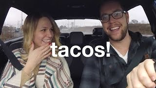 Taco Road Trip with Patrick ❤️ VLOG   morerebe