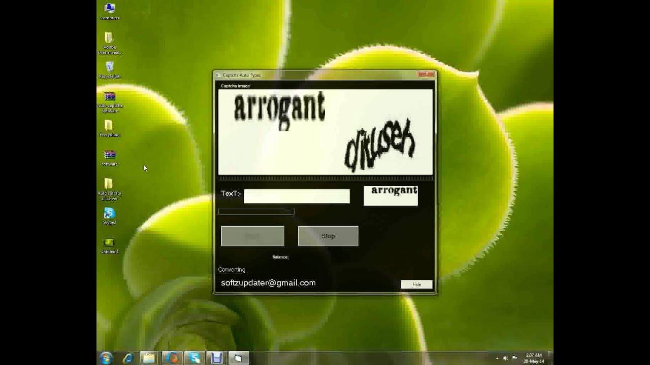 Auto Captcha Entry software Free