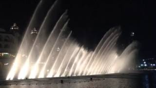 Dubai Fountain Show I Will Always Love You Whitney Houston