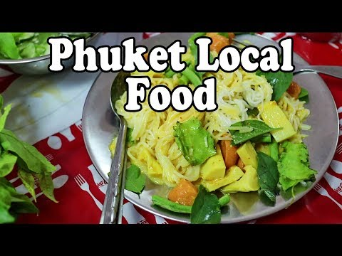 PHUKET FOOD: THAI BREAKFAST / BRUNCH / LUNCH TOUR | FOOD IN THAILAND. PHUKET TOWN FOOD
