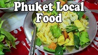 PHUKET FOOD: THAI BREAKFAST / BRUNCH / LUNCH TOUR | FOOD IN THAILAND. PHUKET TOWN FOOD