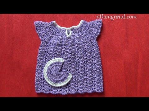 Hướng dẫn móc váy cho bé gái: bé sơ sinh