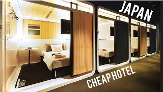 What a Japanese Capsule Hotel is Really Like | Osaka Japan