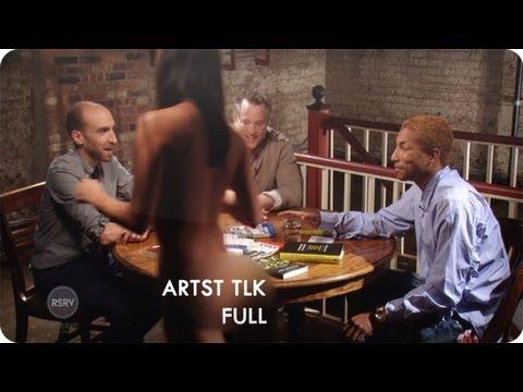 Pharrell Williams Interviews Ben Mezrich & Andy Greenberg   ARTST TLK Ep. 1 Full   Reserve Channel