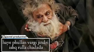 Phullan Wargi Jindri Ishq Rula Chadda whatsapp status javed production