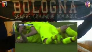 Video Gol Pertandingan Genoa vs Bologna
