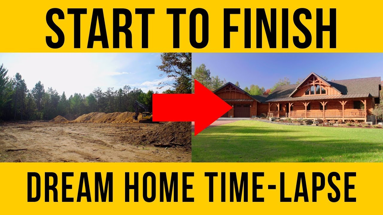 Home Construction Start To Finish Building A New House