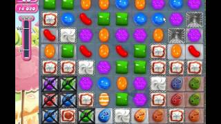 Candy Crush Saga level 866 (3 star, No boosters)