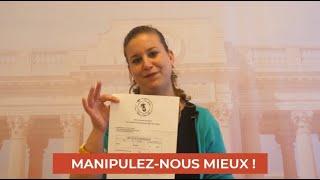 RAPPORT POLITIQUE DE LA SEMAINE : MANIPULEZ-NOUS MIEUX !