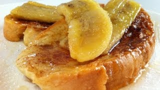 French Toast: Cinnamon & Banana