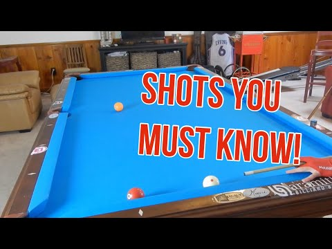 Thumbnail: Shots you MUST KNOW in Pool! | Frozen Rail Position