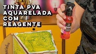 NOVA Tinta PVA Aquarelada com Reagente