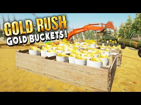 Can A Field Of Gold Buckets Help Our Crushing Debt - Gold Rush The Game