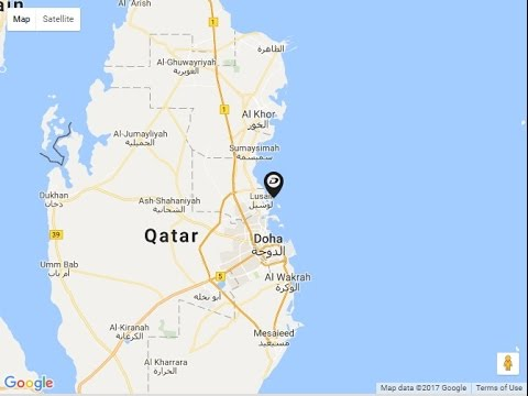 Damac Burj DAMAC Seaviews, Location Map, Lusail, Doha, Qatar