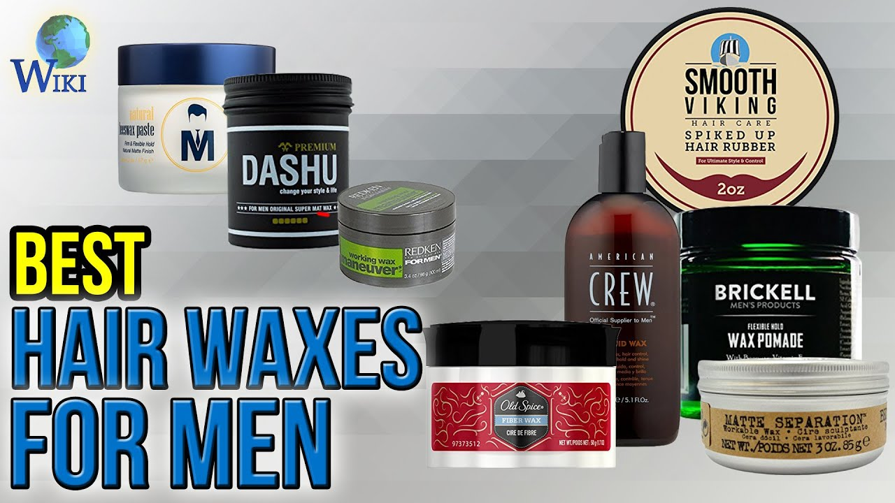 10 Best Hair Waxes For Men 2017