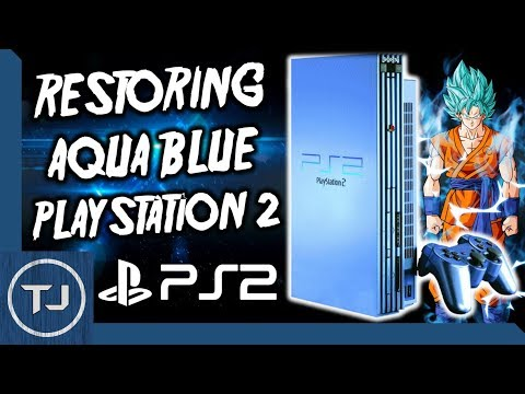 Aqua Blue PlayStation 2 Restoration! [SCPH-50003]