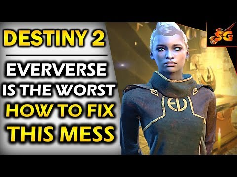 DESTINY 2 #RemoveEververse | HOW BUNGIE CAN TURN ITS EVERVERSE FAILURE INTO BETTER & SMARTER CONTENT