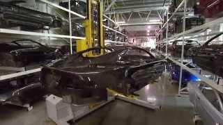 Документальный фильм Мегазаводы Aston Martin One 77 2014 HD смотреть онлайн