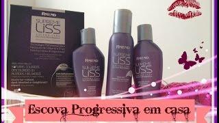 Supreme Liss Escova Progressiva - Amend (Feita em Casa) | Ticiana Fontes