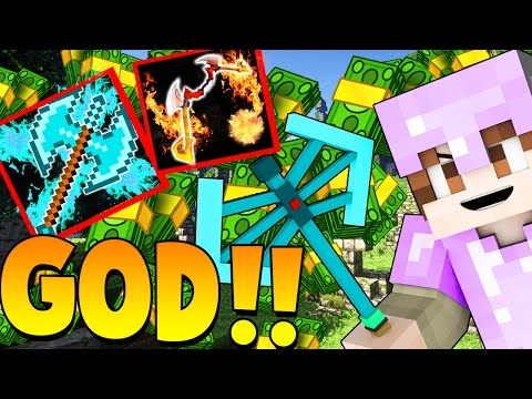 OVERPOWERED GOD AXE BEST 2 vs 1 EVER! | Minecraft: Money Wars 1.9 TEAMS #11