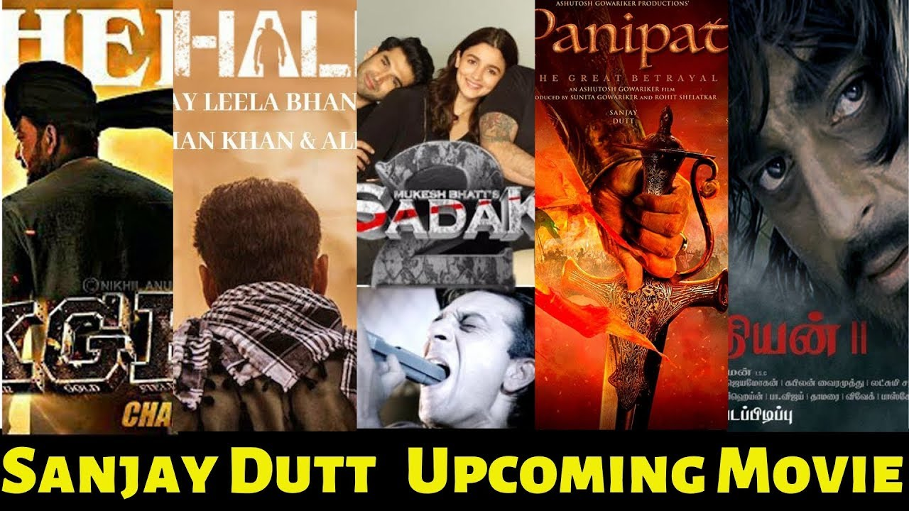 Sanjay Dutt 12 Upcoming Bollywood Movies List 2019 and ...