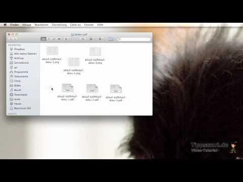 Mac: PDF Zusammenfügen Mit Der Vorschau - Anleitung