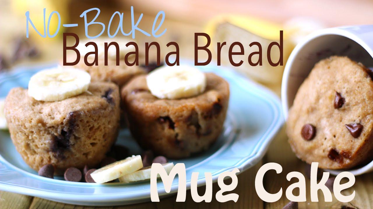 Banana Mug Cake Vegan