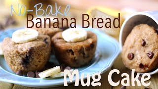 College Dorm Recipes: Vegan Banana Bread Mug Cake W/ The Edgy Veg