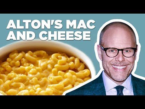 Alton Brown Makes Stove Top Mac-n-Cheese | Food Network