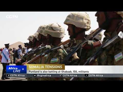 Somalia regional forces fight over northern sool region