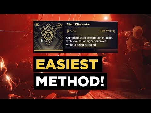 The EASIEST Way to Complete a LVL 30 Exterminate Mission Without being DETECTED #Warframe