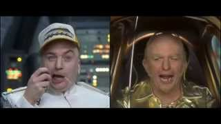 Dr. Evil and Goldmember as Truckers