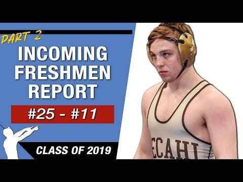 Top 25 Incoming College Freshmen Wrestling Recruits (Class Of 2019)