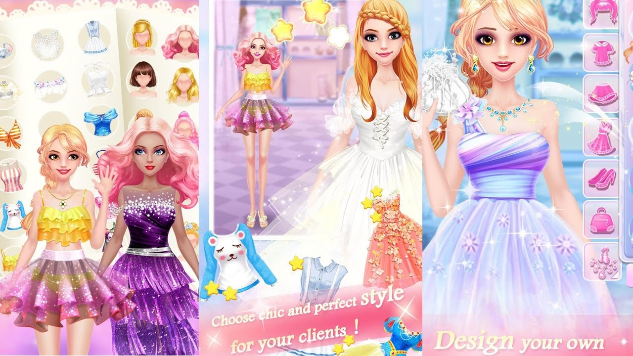 Fashion Shop - Girl Dress Up  Amazing Fashion Game for Baby Girls  Dress  Up,Shopping Games