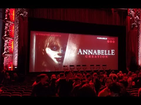 Annabelle Creation The LA Film Festival 2017 PT:1