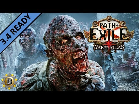 [3.4] Zombiemancer Build - Necromancer Witch - Path of Exile War For The Atlas - Delve