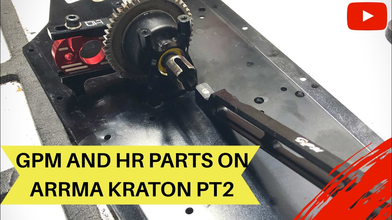 GPM / HOT RACING PARTS ON ARRMA OUTCAST TO A KRATON