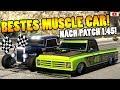 🏁🧐Bestes MUSCLE CAR Nach Patch 1.45!🧐🏁Speed+Race Test! [GTA 5 Online After Hours Update DLC]