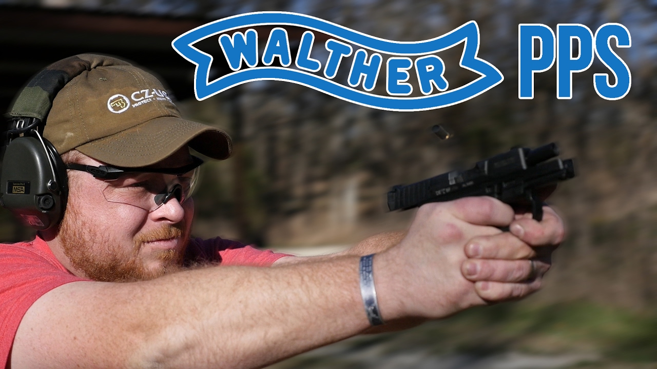 walther pps m1 the first single stack 9mm glock youtube