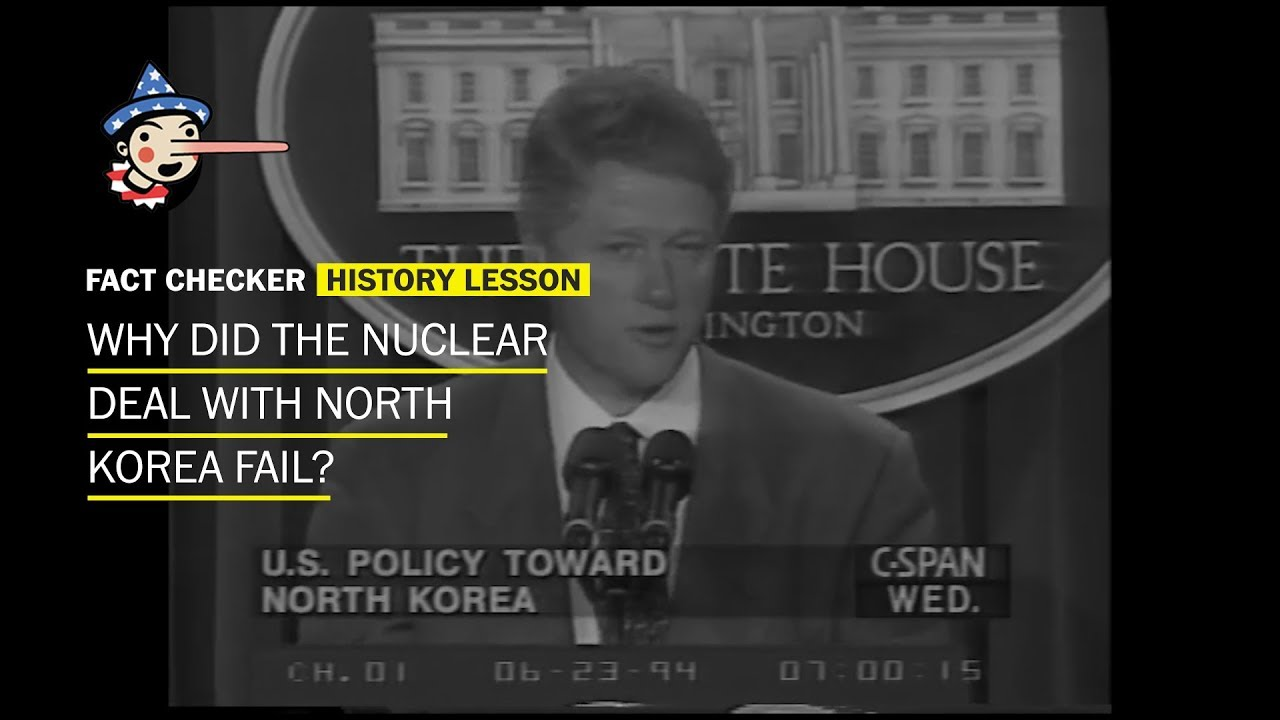 Why did the nuclear deal with North Korea fail? - YouTube