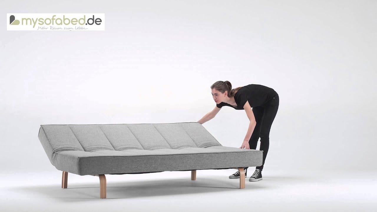 Schlafsofa designermöbel  ODIN Schlafsofa mit Holz Füßen Schlafsofa von Innovation - Mixed ...