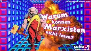 Warum können Marxisten nicht lesen? - Ein Vortrag von Joachim Bruhn