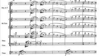 Aaron Copland - Fanfare for the Common Man for Orchestra (1942) [Score-Video]