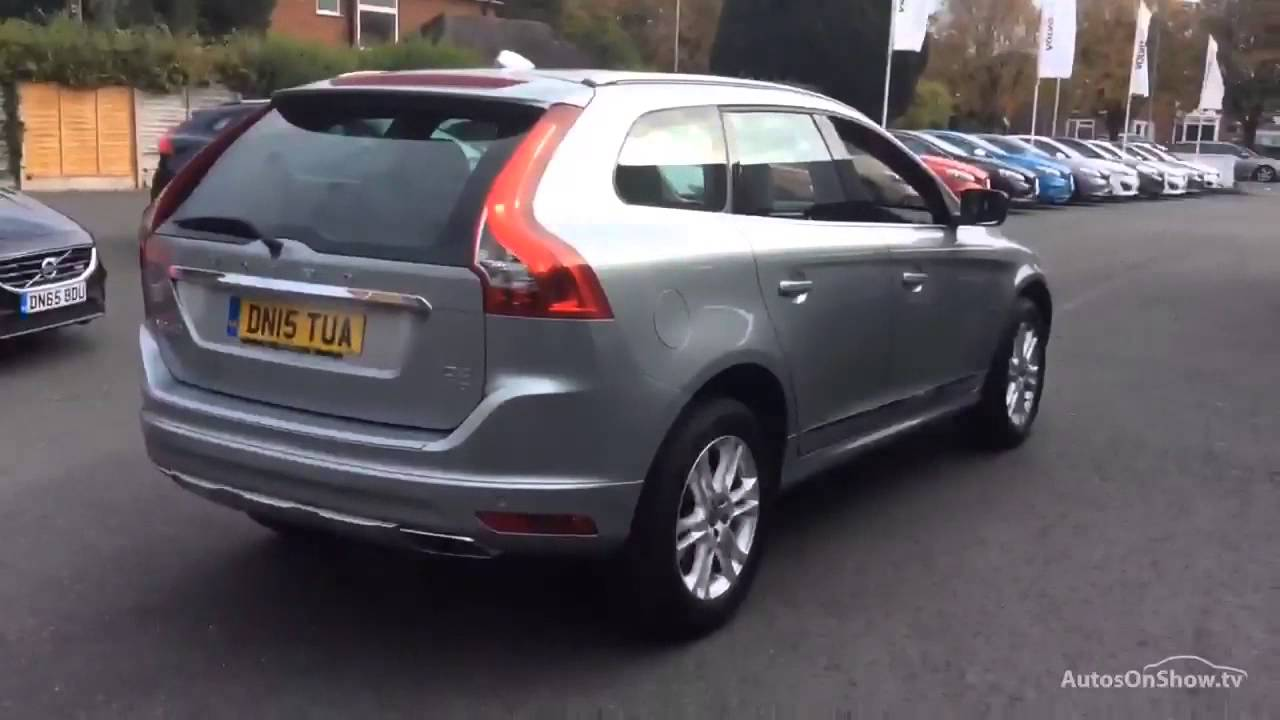 volvo xc60 d4 se lux nav awd aluminium silver 2015 youtube. Black Bedroom Furniture Sets. Home Design Ideas