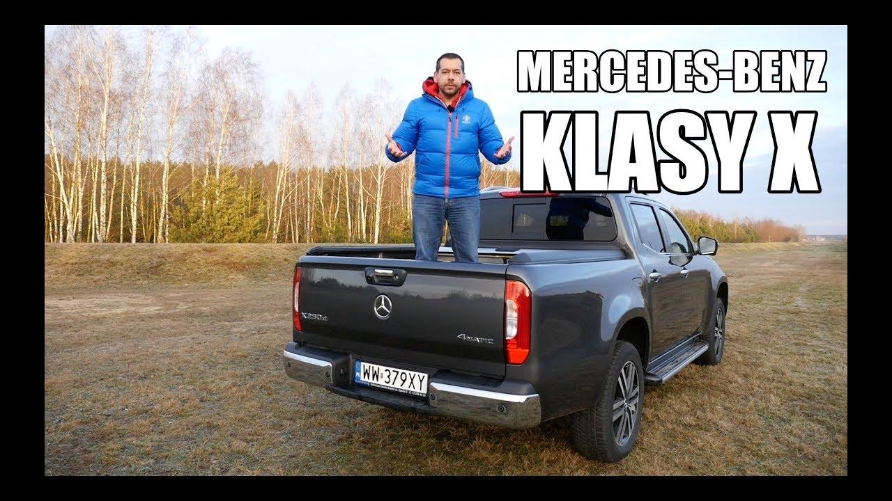 Mercedes-Benz Klasy X pickup (PL) – test i jazda próbna