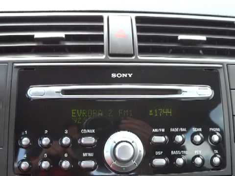 ford c max 1 6 16v 85 kw klima sony audio int youtube. Black Bedroom Furniture Sets. Home Design Ideas
