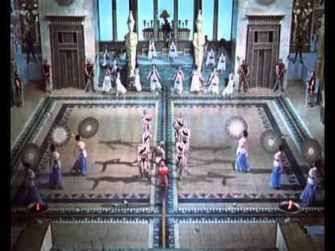 BEAUTIFULLY PERFOMED DANCES [HD] ... FILM - AIDA [1953]